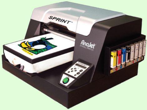 Принтер для печати на футболках.